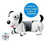 Silverlit 88570 Robo Dash/Dackel mit Fernbedienung, Hund für Kinder, Weiß