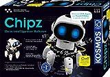 KOSMOS - Chipz - Dein intelligenter Roboter, mit 6 Beinen, folgt Bewegungen, weicht Hindernissen aus, Licht- und Soundeffekte, Roboter Spielzeug, Bausatz, Experimentierkasten für Kinder ab 8 Jahren
