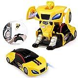 Baztoy Transform Roboter Ferngesteuertes Auto Spielzeug RC Car Fernbedienung